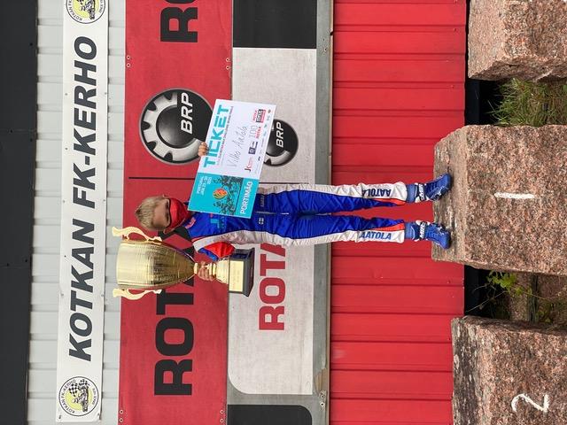 Turkulainen Vilho Aatola Rotax Max Challenge -maailman finaaliin